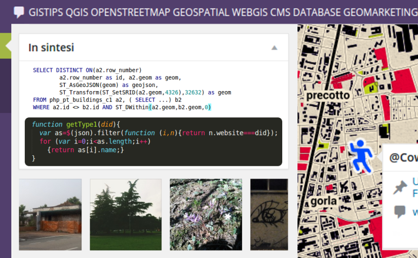 geoBlog Wordpress - Geospatial CMS