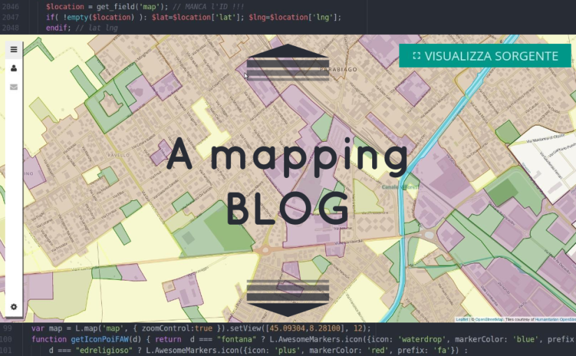 twitter - mapping blog