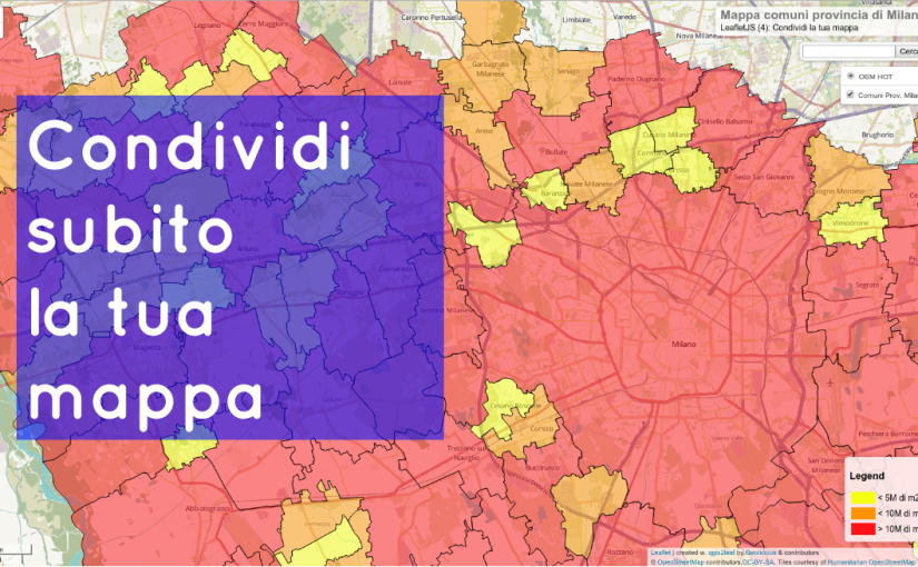 LeafletJS 5 : share your map II (ITA) by City Planner