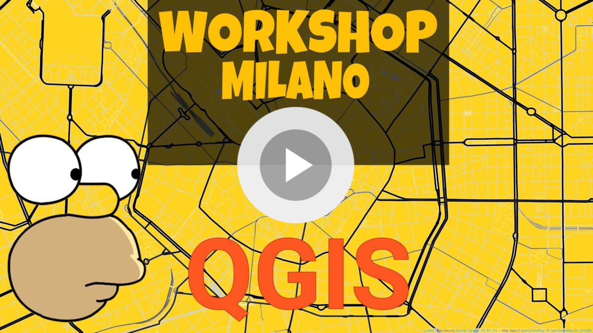 Workshop Qgis al Log.Ed. Milano