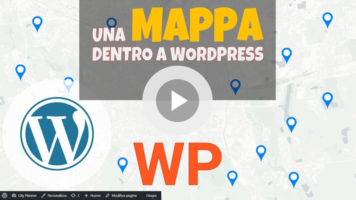 WP Maps tutorial - Come inserire la prima mappa nel template di una pagina di Wordpress