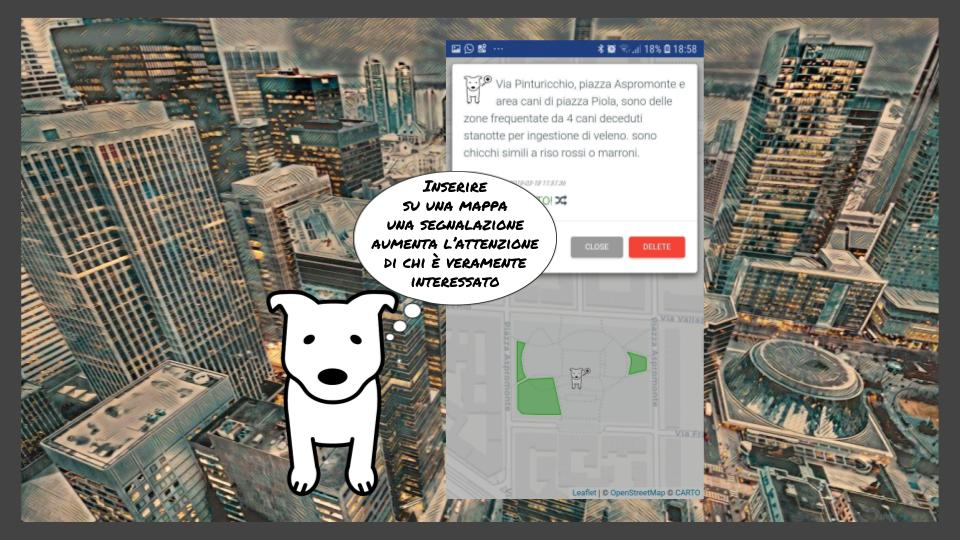 save the dog map